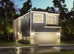 The Sawyer (S102) - Spring Brook Village - Townhome Collection: Houston, Texas - Meritage Homes