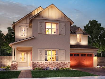 Lakeview Trails At Morrison Ranch By Meritage Homes In Phoenix Mesa Arizona