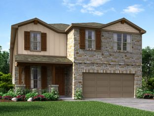 The Sabine - Asher Place: Saint Hedwig, Texas - Meritage Homes