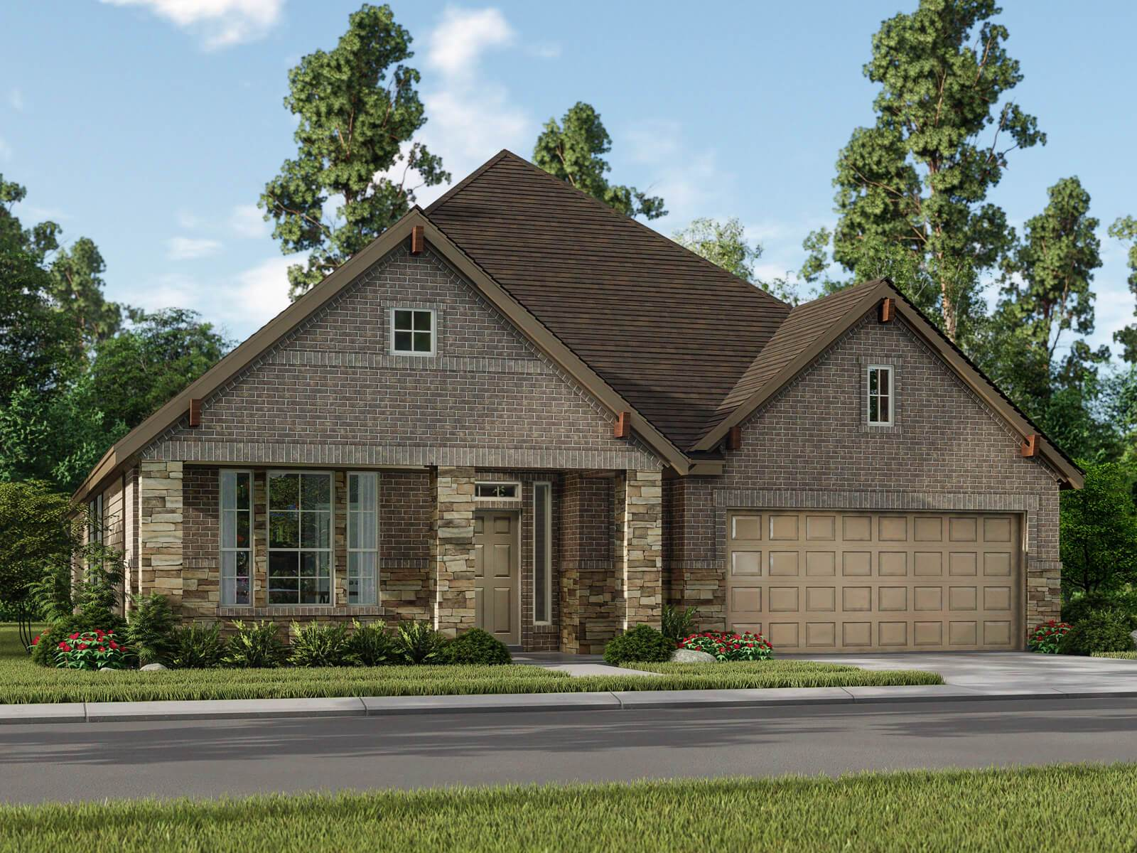 Exterior featured in The Matterhorn (5574) By Meritage Homes in Houston, TX
