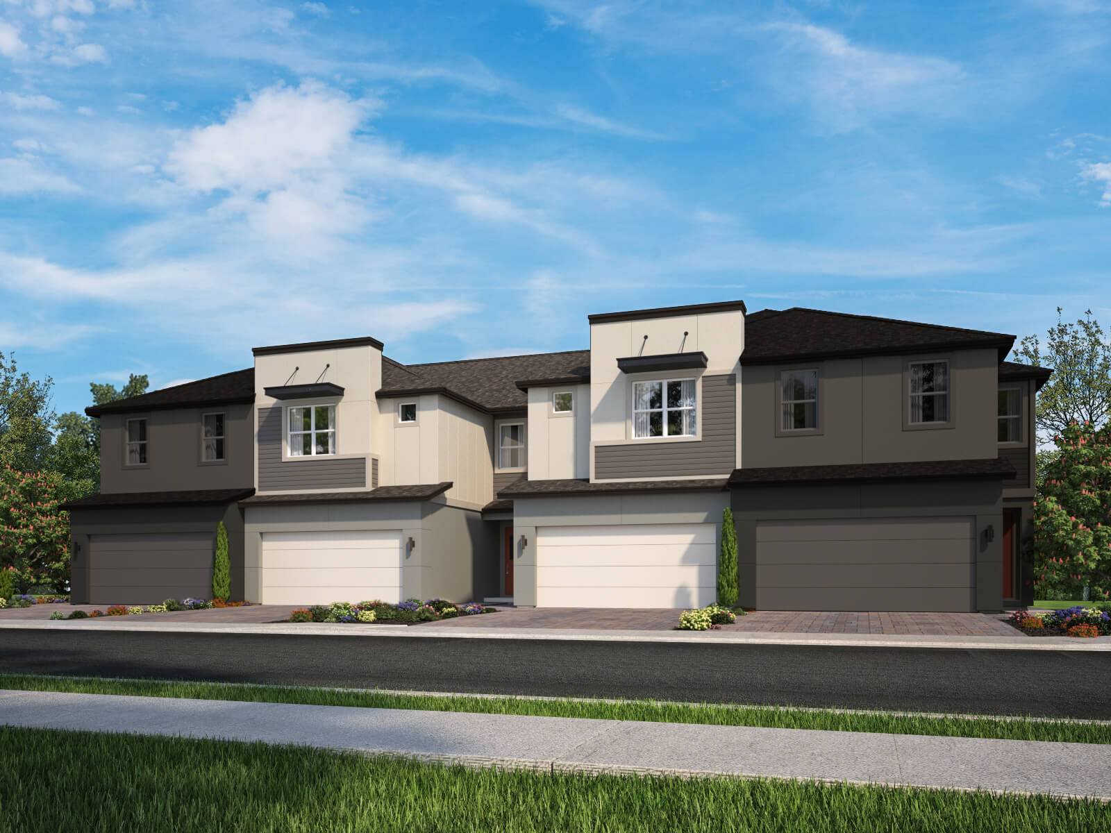 Exterior featured in the Burbank By Meritage Homes in Orlando, FL