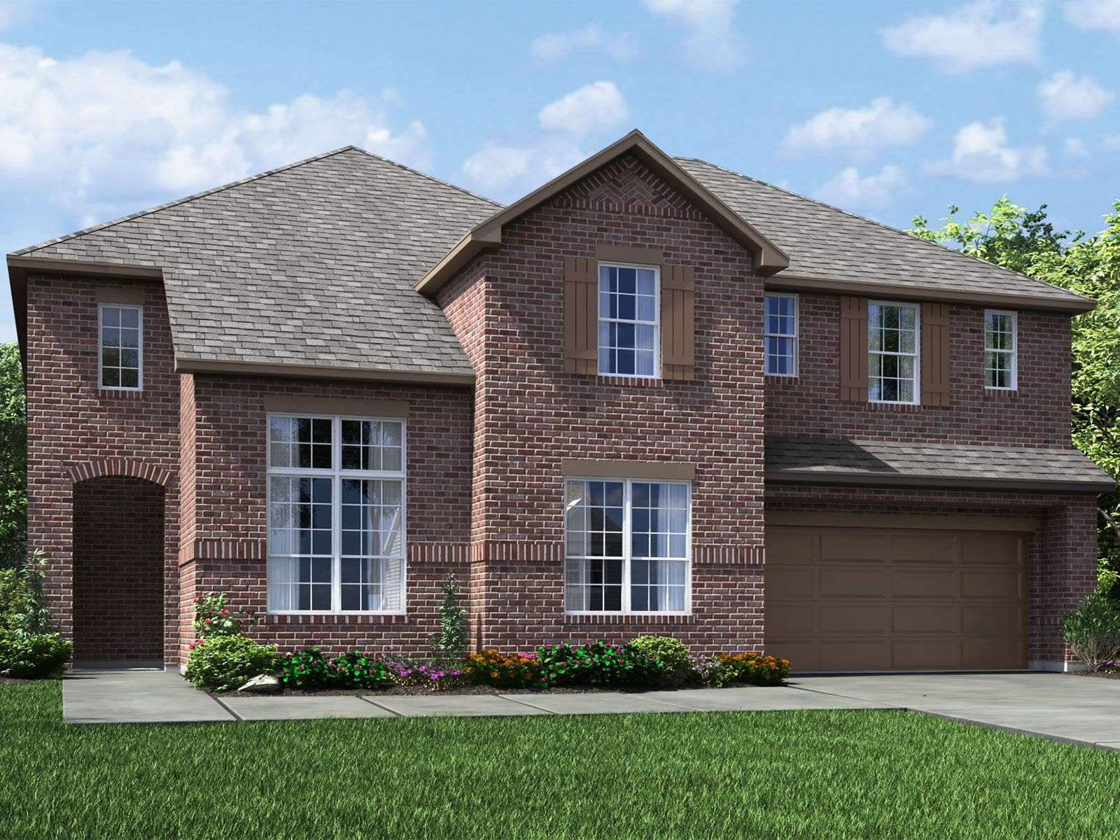 Exterior featured in The Huntley (5012) By Meritage Homes in Houston, TX