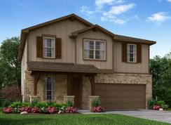 The Red River - Asher Place: Saint Hedwig, Texas - Meritage Homes