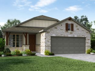 The San Saba - Asher Place: Saint Hedwig, Texas - Meritage Homes