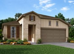 The Brazos - Asher Place: Saint Hedwig, Texas - Meritage Homes