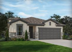 The Guadalupe - Asher Place: Saint Hedwig, Texas - Meritage Homes