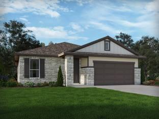 The Brazos - Harlach Farms: San Antonio, Texas - Meritage Homes