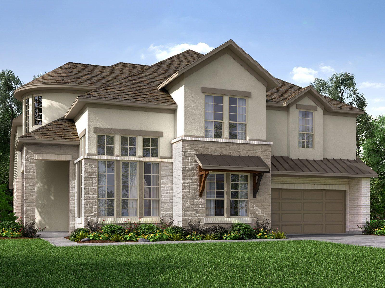 Meritage Homes Bridgeland Cypress Tx | Flisol Home