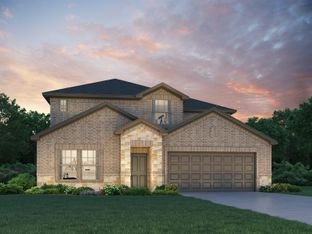 The Pearl (L452) - Central Park Square: Texas City, Texas - Meritage Homes