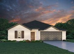 The Oleander (L401 LN) - Cherry Pines: Tomball, Texas - Meritage Homes