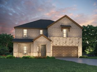 The McKinnon - Berkshire - Meadow Series: Fort Worth, Texas - Meritage Homes