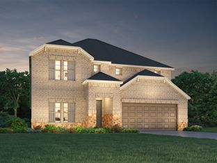 The Legacy (L453 LN) - Riverstone Ranch - The Manor - Classic: Pearland, Texas - Meritage Homes