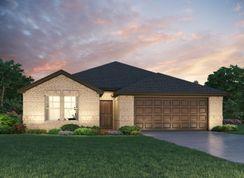 The Henderson (C404) - Montgomery Oaks - Estate: Conroe, Texas - Meritage Homes