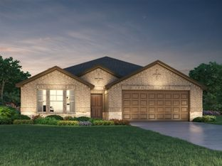 The Henderson (L404) - Central Park Square: Texas City, Texas - Meritage Homes