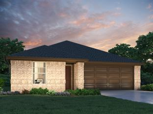 The Briscoe (820) - Cross Creek - The Meadows: Hutto, Texas - Meritage Homes