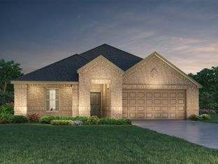 The Henderson (C404) - Riverstone Ranch - The Manor - Classic: Pearland, Texas - Meritage Homes