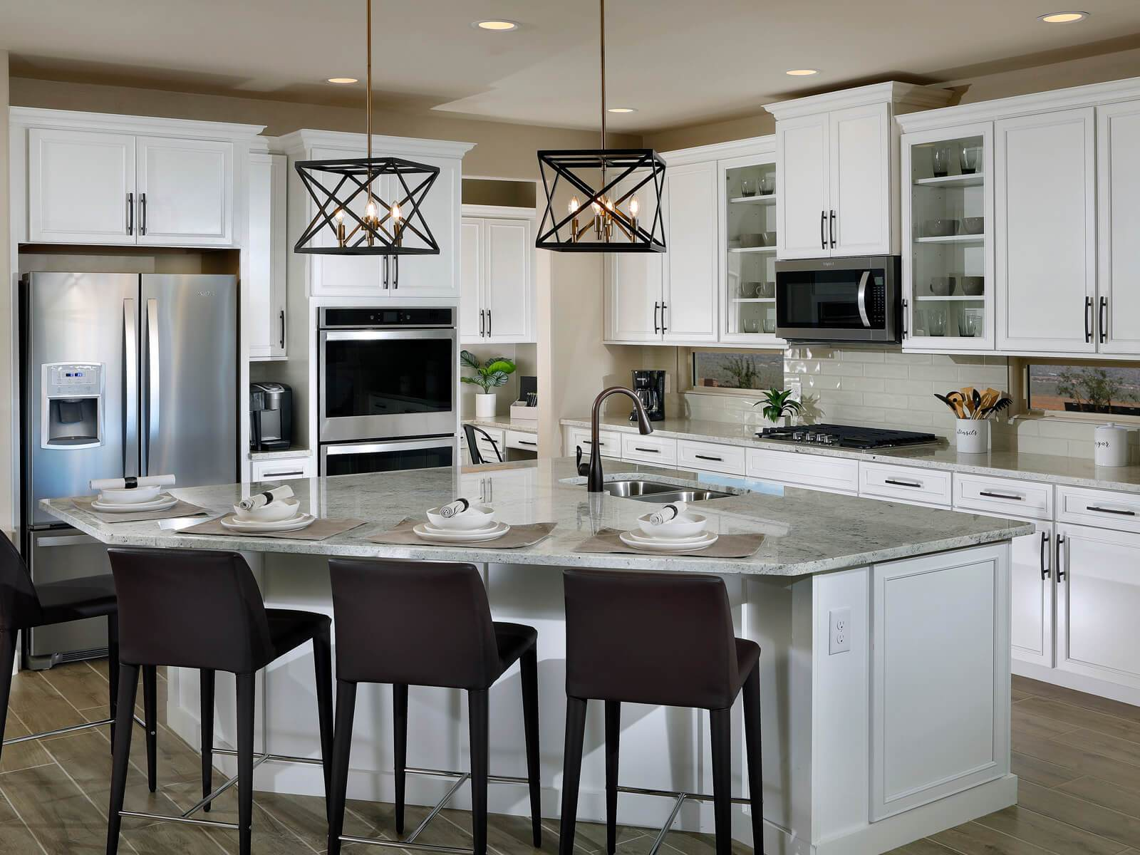 Kitchen featured in the Festival By Meritage Homes in Tucson, AZ