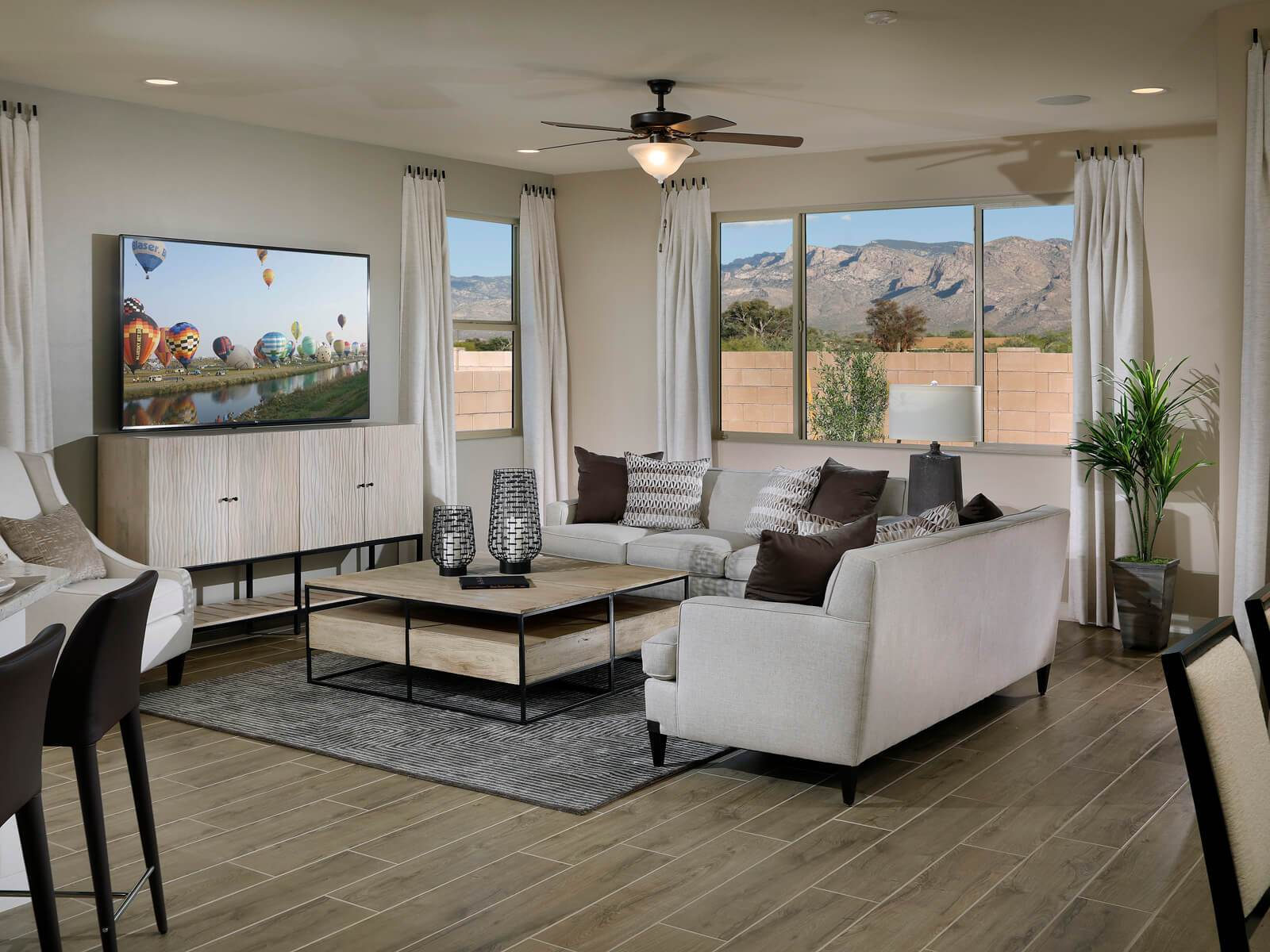Living Area featured in the Festival By Meritage Homes in Tucson, AZ