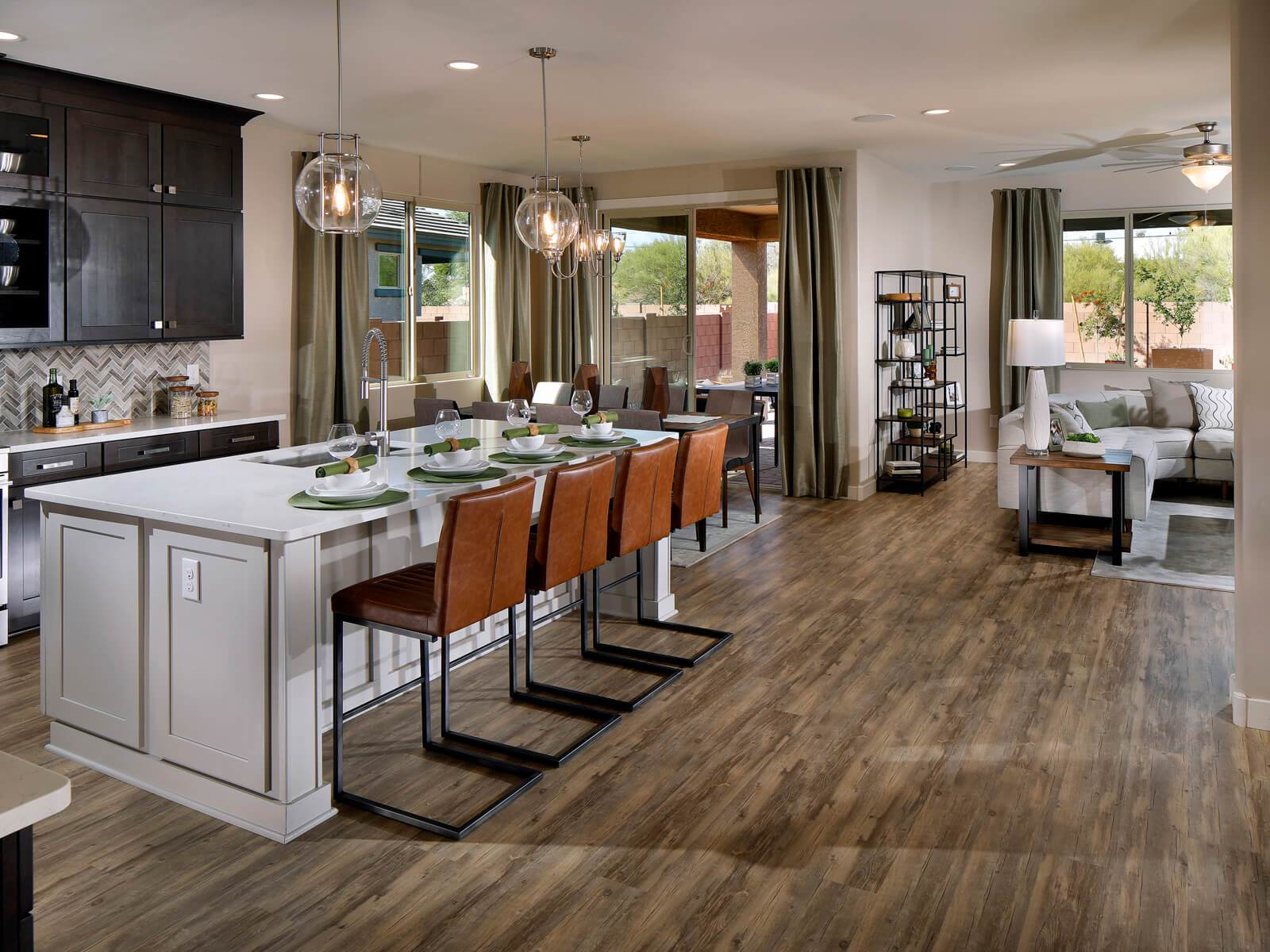 Kitchen featured in the Everett By Meritage Homes in Tucson, AZ