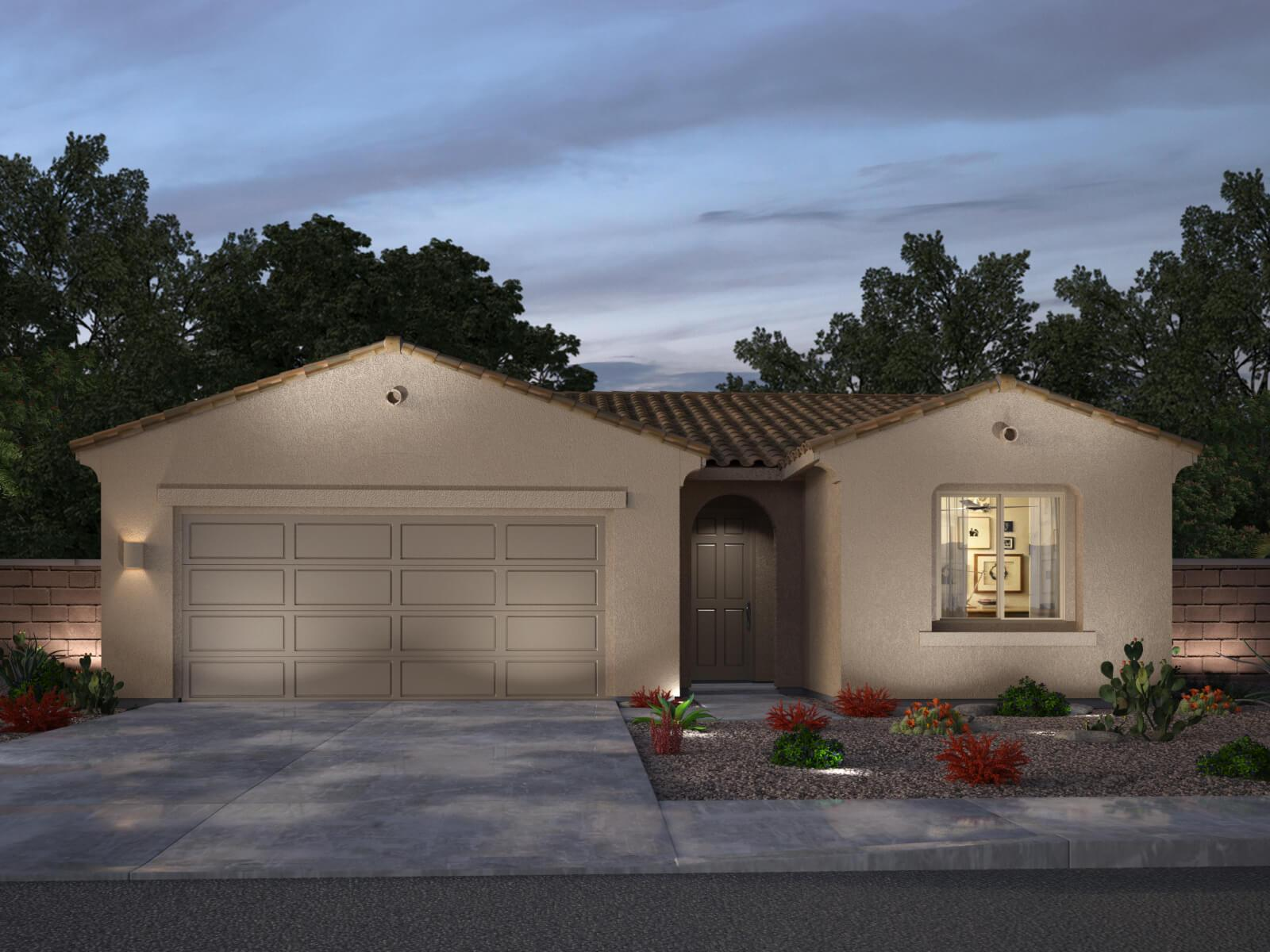 Exterior featured in the Chilton Ranch By Meritage Active in Tucson, AZ