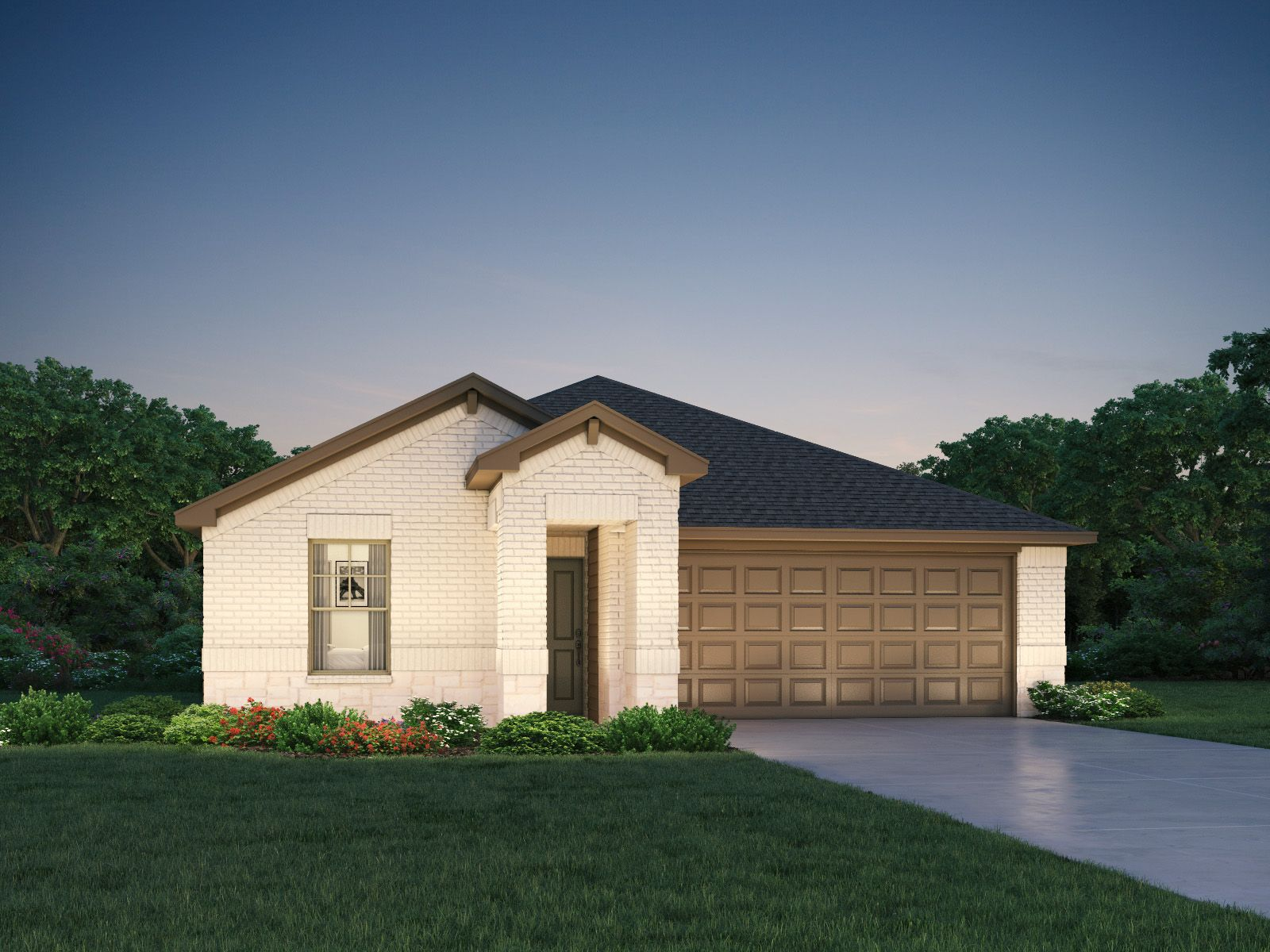 Exterior featured in The Briscoe (820) By Meritage Homes in Houston, TX