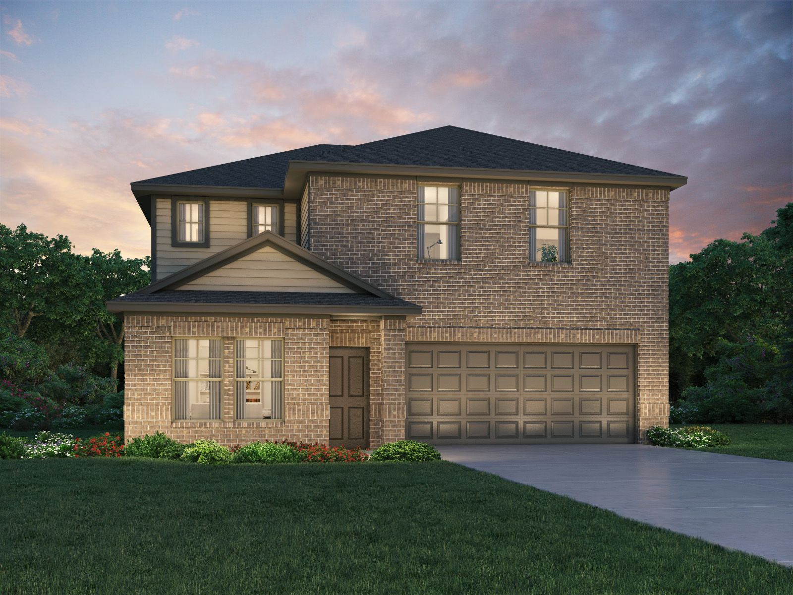 Exterior featured in The Winedale (880) By Meritage Homes in Houston, TX