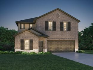 The Winedale (880) - Cherry Pines: Tomball, Texas - Meritage Homes