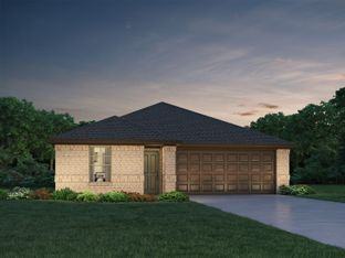 The Briscoe (820) - Glendale Lakes: Rosharon, Texas - Meritage Homes