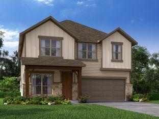 The San Jacinto - Harlach Farms: San Antonio, Texas - Meritage Homes