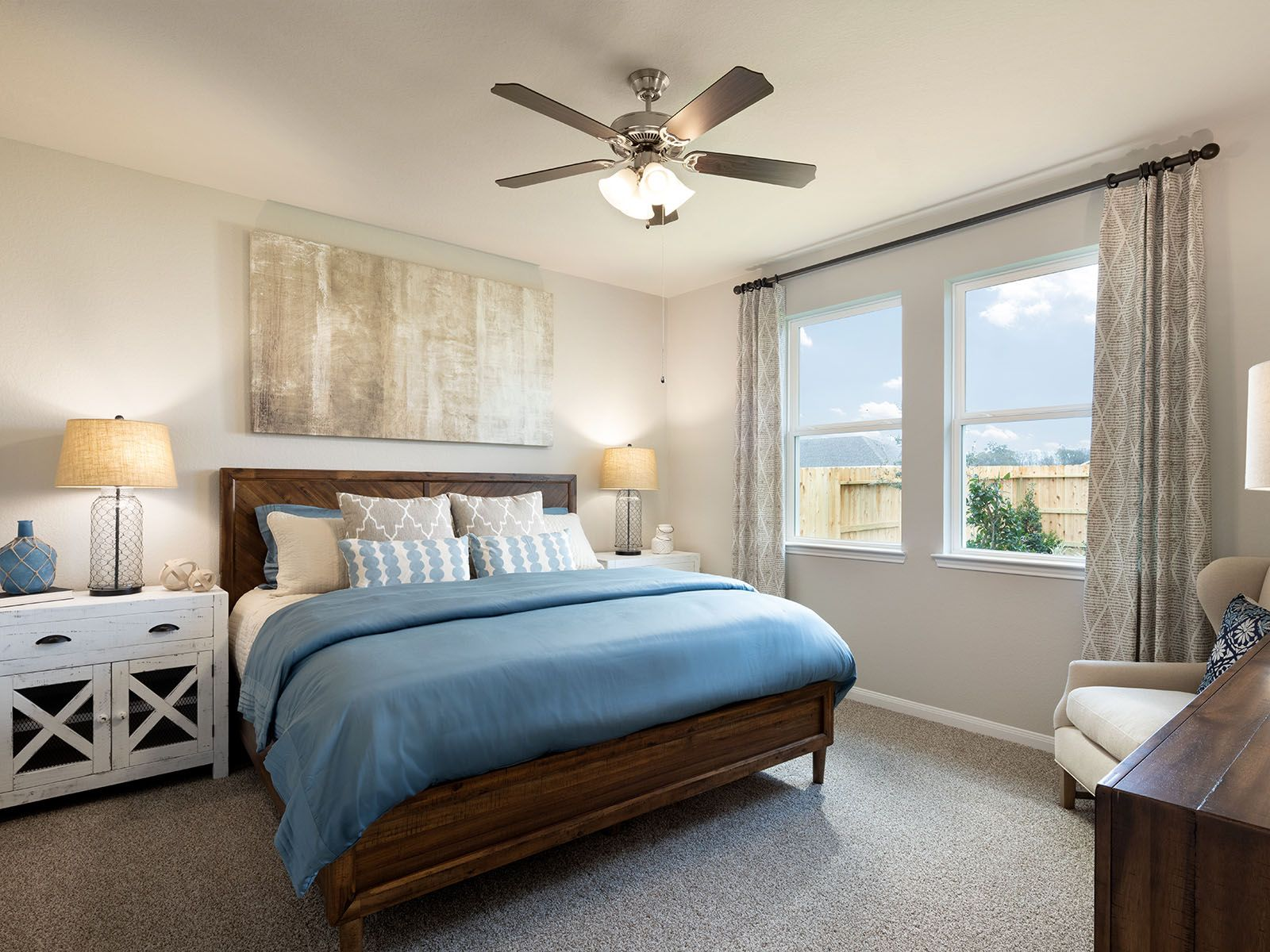 Bedroom featured in The Everglade (N303) By Meritage Homes in Houston, TX