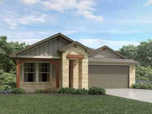 The Briscoe (820) - Homestead at Old Settlers Park: Round Rock, Texas - Meritage Homes