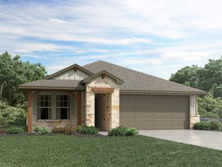 The Callaghan (830) - Homestead at Old Settlers Park: Round Rock, Texas - Meritage Homes