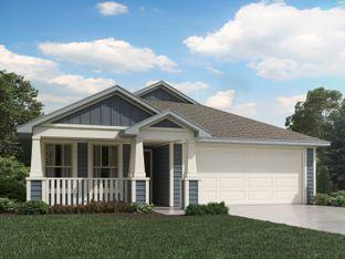 Allen (840) - Meyers Landing: New Braunfels, Texas - Meritage Homes