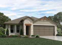 The Hughes (841) - Homestead at Old Settlers Park: Round Rock, Texas - Meritage Homes