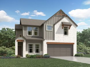 The Channing (850) - Homestead at Old Settlers Park: Round Rock, Texas - Meritage Homes