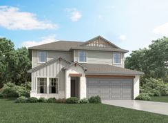 The Matador (870) - Homestead at Old Settlers Park: Round Rock, Texas - Meritage Homes