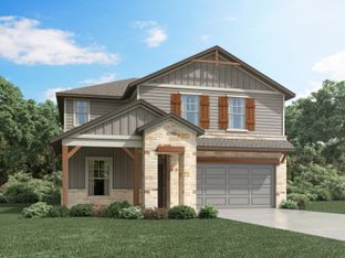 Winedale (880) - Meyers Landing: New Braunfels, Texas - Meritage Homes