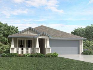 Callaghan (830) - Meyers Landing: New Braunfels, Texas - Meritage Homes