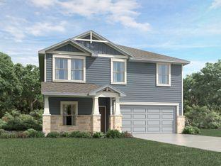 McCoy (860) - Meyers Landing: New Braunfels, Texas - Meritage Homes