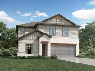 The Winedale (880) - Homestead at Old Settlers Park: Round Rock, Texas - Meritage Homes