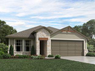 Hughes (841) - Meyers Landing: New Braunfels, Texas - Meritage Homes
