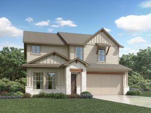 The Reynolds (890) - Homestead at Old Settlers Park: Round Rock, Texas - Meritage Homes