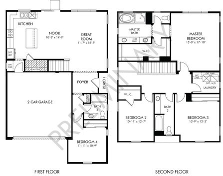 Residence 5 Plan at Solorio in Hollister, CA by Meritage Homes