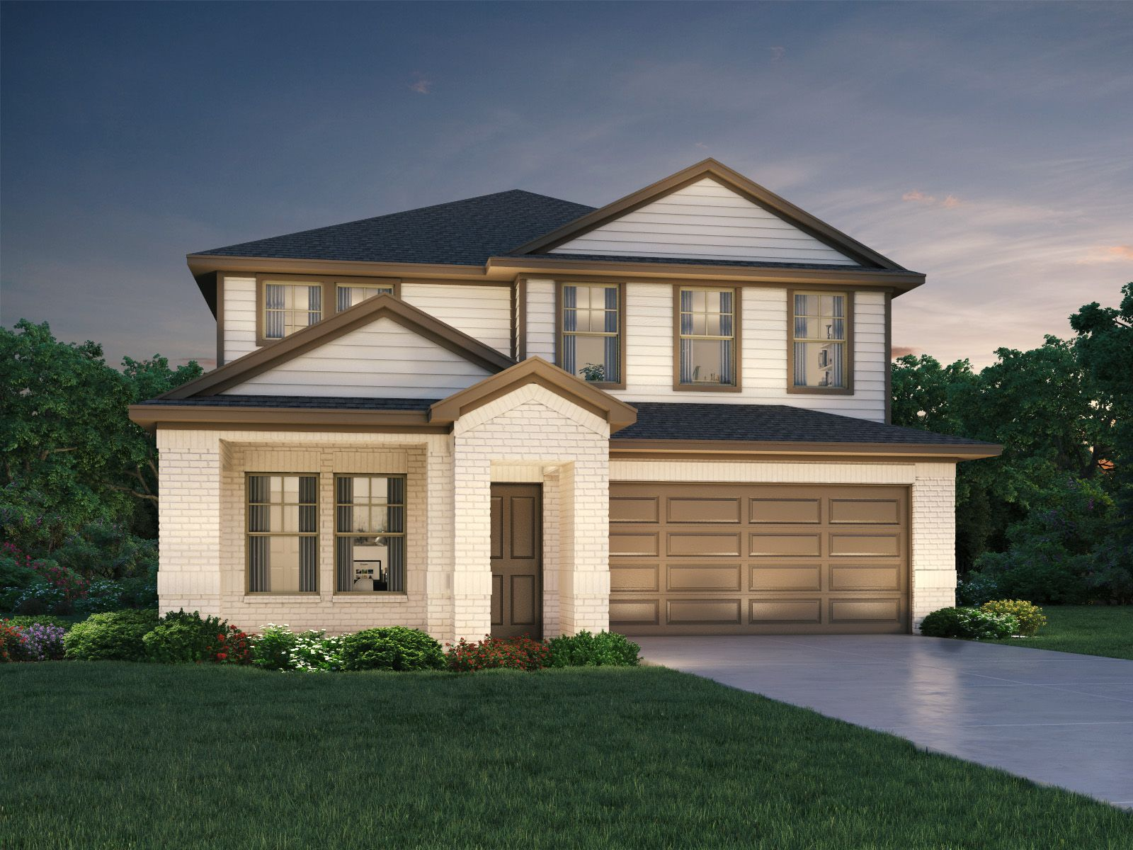 Exterior featured in The Reynolds (890) By Meritage Homes in Houston, TX