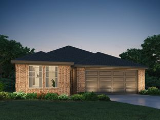 The Hughes (841) - Glendale Lakes: Rosharon, Texas - Meritage Homes