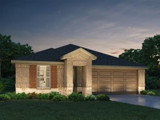 The Hughes (841) - Katy Pointe: Katy, Texas - Meritage Homes
