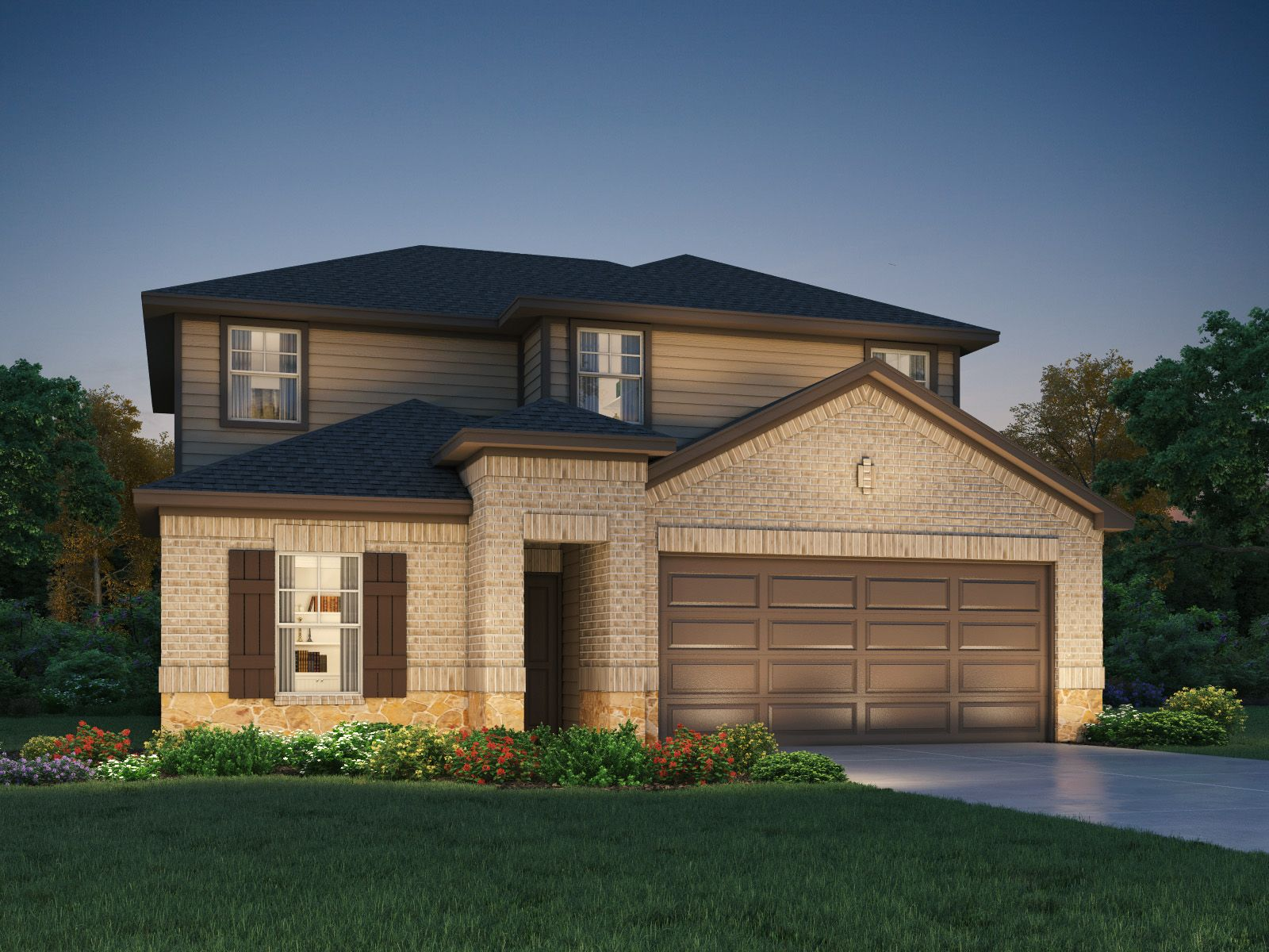 Exterior featured in The Matador (870) By Meritage Homes in Houston, TX