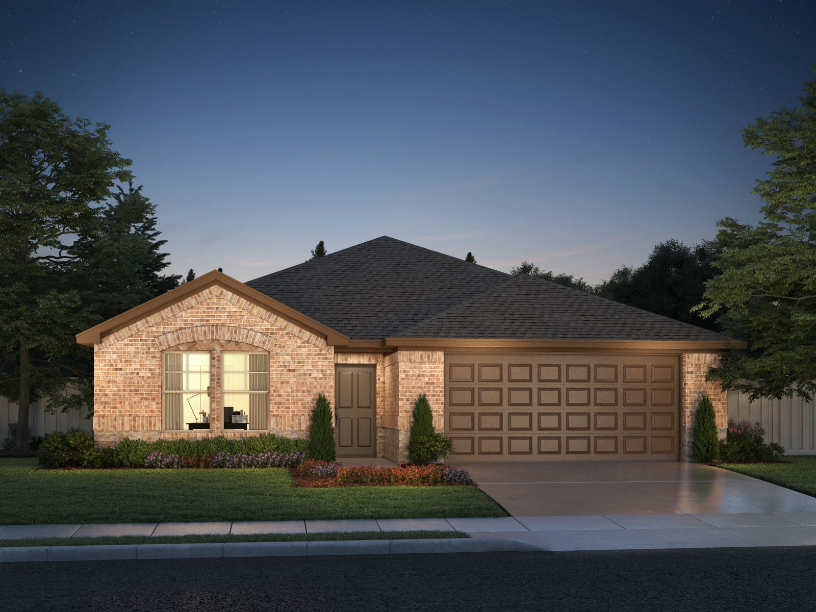 Exterior featured in The Henderson By Meritage Homes in Dallas, TX