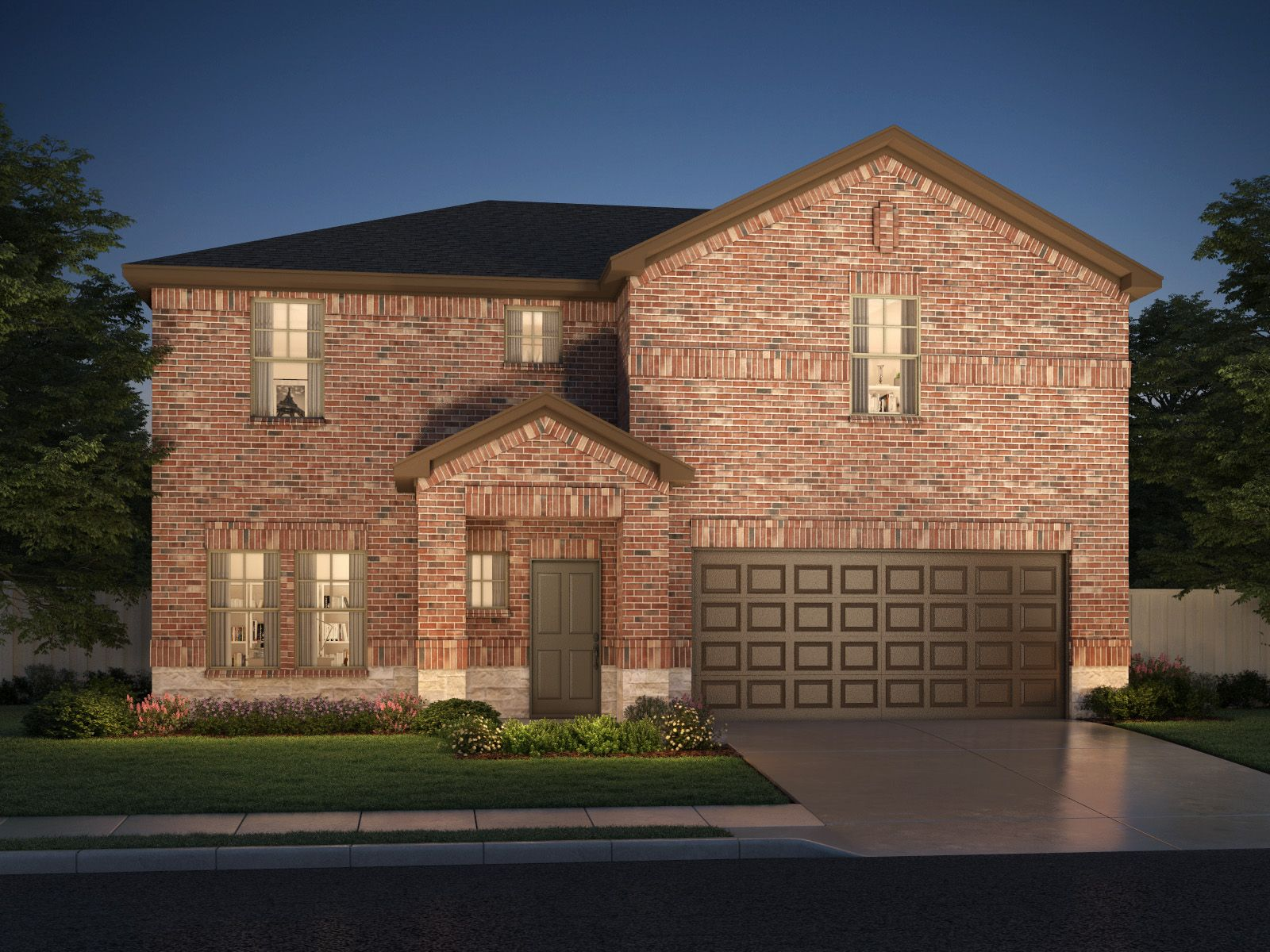 Exterior featured in The McKinnon By Meritage Homes in Dallas, TX