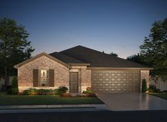 The Oleander - Cibolo Hills: Fort Worth, Texas - Meritage Homes